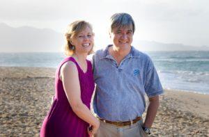Kathy Becklin & Peter Liu
